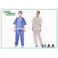 Wholesale Breathable Surgical Disposable Protective Gowns Shirt and Pant Hospital use from china suppliers