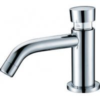 Wholesale Modern Brass Self Closing Faucet Under Counter Basin Tap , 8um - 12um from china suppliers