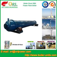 Wholesale Silver oil fired boiler mud drum SGS certification manufacturer from china suppliers