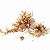 China Gold Whirlwind Bridal Headwear, Made by Twist Technique to Present a Noble Design on sale