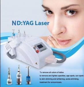 portable Nd yag laser tattoo removal laser q switched nd yag laser skin rejuvenation