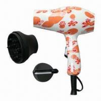 Wholesale Mini Travel Hair Dryer, Durable and Heat-resistant PC Material, Customized Designs Welcomed from china suppliers
