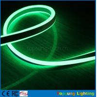 Wholesale green high voltage 120v led double-sided flexible neon light 8.5*17mm light from china suppliers