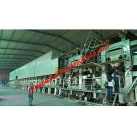 Buy cheap 200TPD 4300mm trim width fourdrinier wire corrugated paper machine from wholesalers