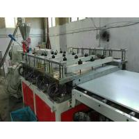 Wholesale 1220mm Wide PVC Foam Board Extrusion Line , 500Kg/h Capacity Wpc Foam Board Machine from china suppliers