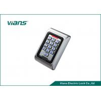 Wholesale 2000 Cards Metal door access keypad , Waterproof MF / EM Card  Reader from china suppliers