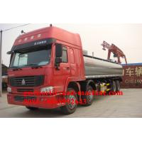 Wholesale SINOTRUK 38000L Oil Tanker Truck 8*4 , HOWO Water Tanker Truck from china suppliers