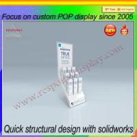 Wholesale Unique design plastic sheet display stand for bottle cosmetic from china suppliers