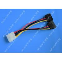 Wholesale IDE Flat Cable Harness Assembly 4 Pin to 2 x 15 Pin SATA To Serial ATA SATA Connector from china suppliers