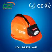 Wholesale Underground High Power LED Mining Lamp Rechargeable 6.6Ah IP65 from china suppliers