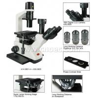 Wholesale Trinocular Head 400X Laboratory Inverted Optical Microscope CE A14.0801 from china suppliers