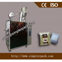 Wholesale CE Verified Drip Coffee Packing Machine ISO International Approval Drip Cafe Packing Factory Direct from china suppliers