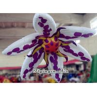 Buy cheap 2m Hanging Inflatable Flower for Exhibition and Wedding Supplies from wholesalers