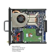 Quality 7Th Generation CPU Industrial Embedded Computer LGA1151 Socket H110 Chipset for sale
