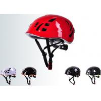 Wholesale COS Inmould Light Weight Rock Climbing Helmet Mountaineering Mountain Climbing Hat from china suppliers