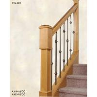Wholesale Supply Stair Railing baluster steel railing from china suppliers