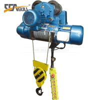 Quality 5 Ton Double Speed Industrial Electric Chain Hoist / Electric Winch Hoist High Efficient  for One year warranty for sale