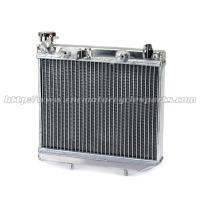 Wholesale Hand Welded Quad Bike Parts All Aluminum Atv Radiator For HONDA TRX450R TRX 450R from china suppliers