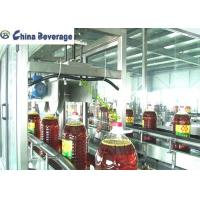Wholesale Gravity Oil Filling Machine Line , Edible Oil Packing Machine Full Automatic Plastic Bottle from china suppliers