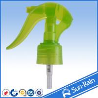 Wholesale Green yellow Water Mini Trigger Sprayer , manual water bottle sprayer from china suppliers