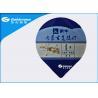 Buy cheap Damp Proof Composited Heat Seal Die Cut Lids / Heat Seal Foil Lids from wholesalers