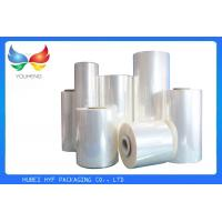 Wholesale 35 Mic Blue Soft Pvc Shrink Film Rolls , Heat Shrink Wrap Film With Blow Molding from china suppliers