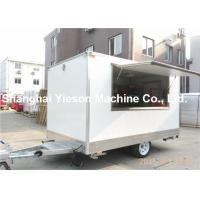 Wholesale Ausralian Standard CE Churros Mobile Kitchen Trailers In White from china suppliers