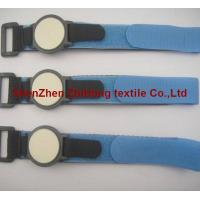 Wholesale Adjustable hook loop magic tape webbing watch band from china suppliers