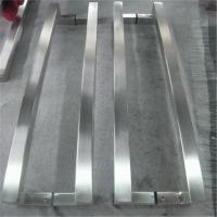 Wholesale door pull handle glass door pull handle stainless steel handle satin finish from china suppliers