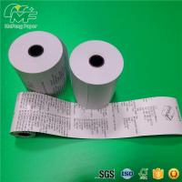 "Premium 55gsm Thermal Printer Paper Roll  3 1/8""X180 Static - Proof Recycled"