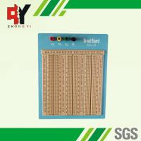 Wholesale Reusable Big Brown Solderless Breadboard 2420 Points With Blue Plate from china suppliers