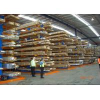 Quality Customized Industrial Cantilever Racks For Lumber / Timber / Pipe / Tube Storage for sale