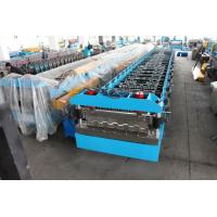 Wholesale Hydraulic Decoiler Floor Deck Roll Forming Machine 22KW 26 Stations from china suppliers