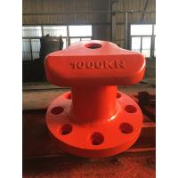 Wholesale OEM Mooring Components Carbon Steel 1000KN Working Load Marine Tee Head Bollard from china suppliers