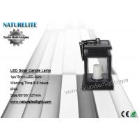 Wholesale Sensor LED Solar Candle Lamp  5lm imitation Twinkle Flash from china suppliers