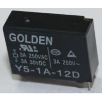 Wholesale Y5-1A-12L SRB JZC-43F Signal Relay 3A 12V 0.36-0.8W 5-48VDC SPST/SPDT -40~85C from china suppliers