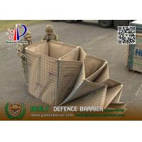 Wholesale HMIL-1 1.37m high Military Defensive Barrier with geotextile fabric | China Gabion Barrier Factory from china suppliers