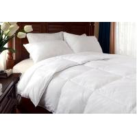 Wholesale 30% White Duck Down Duvet with white cotton fabric Double stitched with Piping good quality from china suppliers