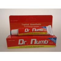 Quality 5% Lidocaine Dr. Numb Pain Relief Topical Pain Tattoo Anesthetic Cream for sale