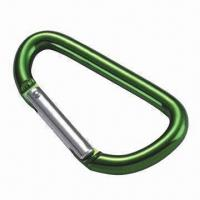 Wholesale Aluminum Snap Hook, Made of Eco-friendly Material, Customized Colors Welcomed from china suppliers