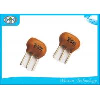 Wholesale ZTB Series Yellow Ceramic Power Resistor 6.0MHz , 3 Pin Resonator For Wireless Phones from china suppliers