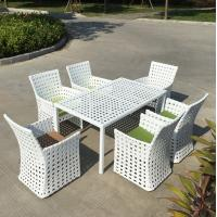 Wholesale Customized Wedding Garden Furniture Classic Plastic Table Rattan Coffee Table/Coffee Shop Rattan Outdoor Table from china suppliers