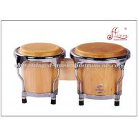 "Wholesale Mini Bongo Drum Percussion Musical Instruments 4"" / 5"" With Birch Wood Material from china suppliers"
