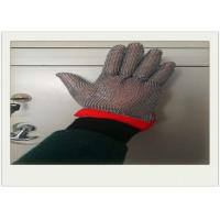 Wholesale Five Fingers Stainless Steel Gloves With Cut Resistant For Cooking from china suppliers