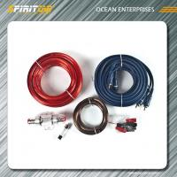 Wholesale Car Amplifier Wiring Kit 4ga / 8ga power cable kit with fuse protect from china suppliers