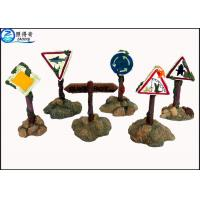 Wholesale Colorful Guidepost  Resin Fish Aquarium Ornaments , Commercial Fish Tank Sign Decorations from china suppliers
