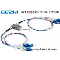 Wholesale Dual 2x2 Multi Mode Mechanical 4x4 Fiberoptic Switch ( Latching Or Non Latching ) from china suppliers