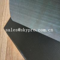 Wholesale Black High Tensile Rubber Soling Sheets W Wave Pattern Natural Gum Rubber Sheet For Shoe Sole Material from china suppliers