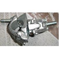 Wholesale Metal Scaffolding Frames Hot Zinc Dipping Forged Swivel Clamps / Forged Double Clamps from china suppliers