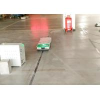 Intralogistics AGV Cart Single Way Rail Guidance Tunnel Tractor for Fabric Industry